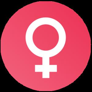 Female Hormone Cycle - Female Sign