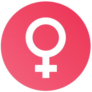 Female Hormone Cycle - Female Sign