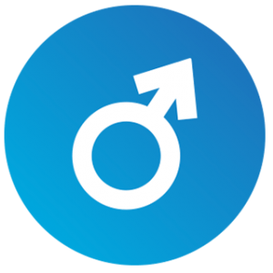 Male Hormone Cycle - Male Symbol