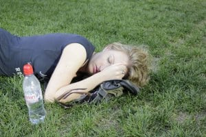 sleepwoman