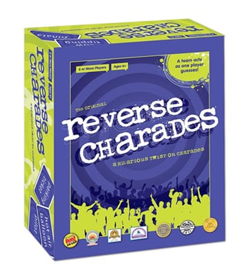 Reverse Charades Party Game
