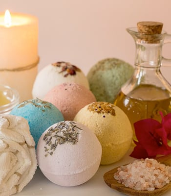 Organic Bath Bombs - My Hormonology