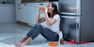 When premenstrual food cravings and appetite just won't stop - Hormonology
